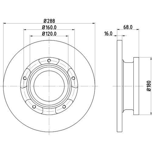 Piezas Originales De Combustible Interruptor De Advertencia De Temperatura Del Refrigerante-CTS6027