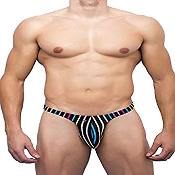 40bc6d7a47a6 Joe Snyder Thong Rio 11 (S, (bw) Candy): Amazon.co.uk: Clothing