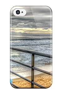Lovers Gifts Awesome Defender Tpu Hard Case Cover For Iphone 4/4s- Locations Orange County 4654943K86950911
