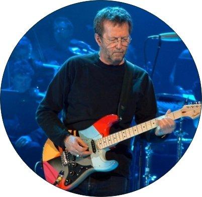 4コースターのセットのコルクBacking Eric Clapton   B07FP6P9NS