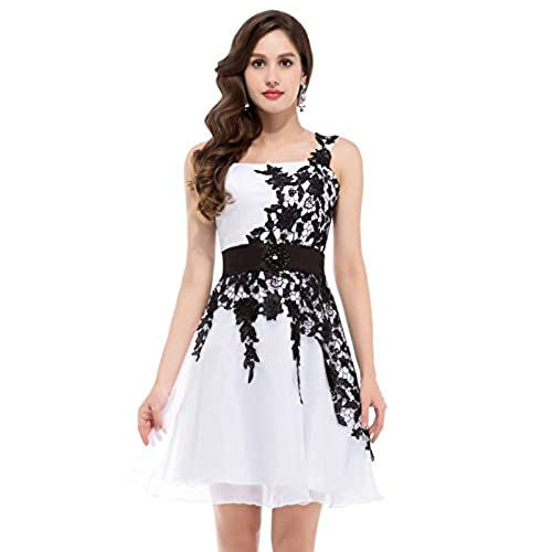 Black and White Ball Gown: Amazon.com