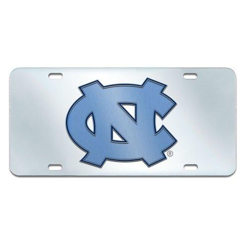 Tar Heels Logo License Plate (FANMATS NCAA UNC University of North Carolina - Chapel Hill Tar Heels Plastic License Plate (Inlaid))