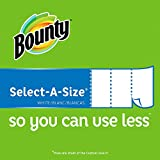 Bounty Select-a-Size Paper Towels, White, 12 Huge