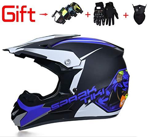 Hombres adultos y mujeres Cascos para vehículos todoterreno Downhill DH Racing Motorcycles AM Cascos integrales de bicicleta...