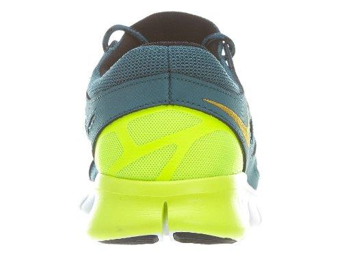 Nike Mens Nike Free Run 2 NIGHT FACTOR/WHITE/BLACK/DARK CHARCO 537732-301 7.5 nMVR94