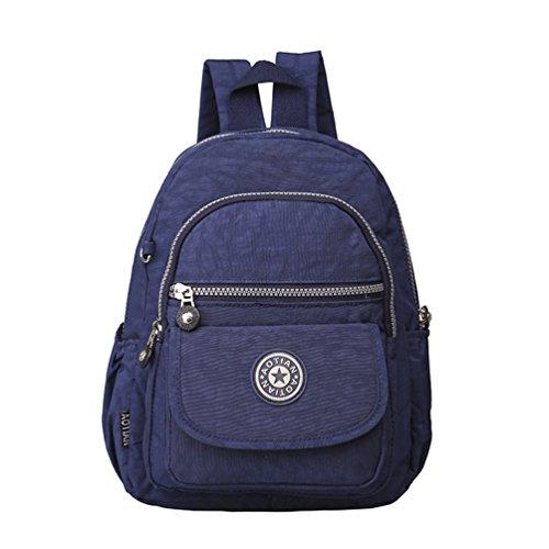 AOTIAN 3973 - Bolso mochila  para mujer morado A-APURPLE A-BNAVY
