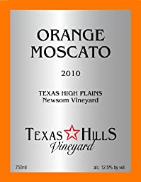 2012 Texas Hills Vineyard Orange Moscato 750 ml