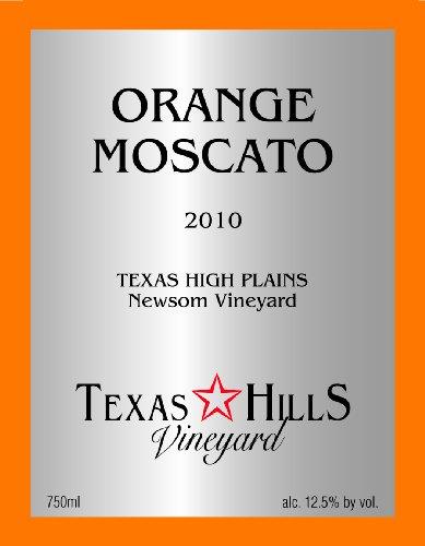 2012 Texas Hills Orange Moscato