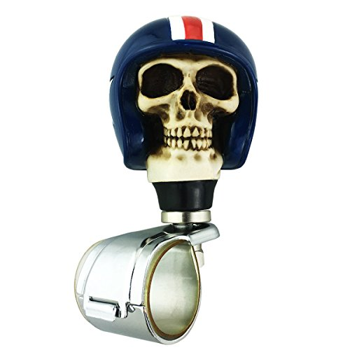 Steering Wheel Spinner Suicide Knob Skull Car Wheel Spinner Power Handle Suicide Steering Assist Knob for Vehicles - Assist Steering