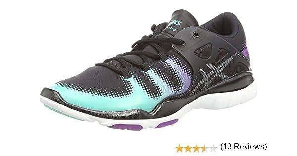 ASICS Gel-Fit Vida - Zapatillas de Running para Mujer, Color Negro (Black/Silver/Aqua Mint 9093), Talla 37.5: Amazon.es: Zapatos y complementos