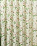 Curtains For Living Room Rustic Pastoral Window Curtain Kitchen Blackout Drape Panels Treatment Home Decor Floral Dining Teens Boys Girls Decorations, Size 100 cm W x 215 cm H (Floral Curtain)