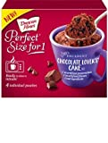 microwave cake mug - Duncan Hines Perfect Size For 1 Cake Mix (Chocolate Lovers Cake)