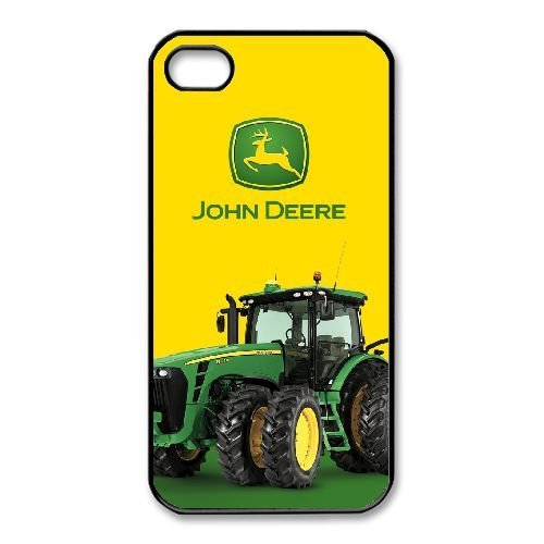 iPhone 4,4S Phone Case Black John Deere QY7996641