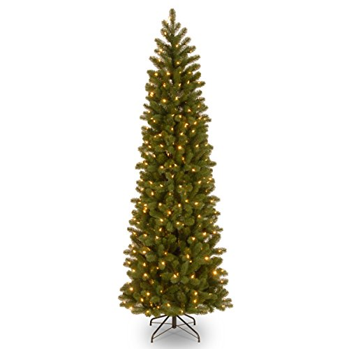 Slim Christmas Tree With Led Lights