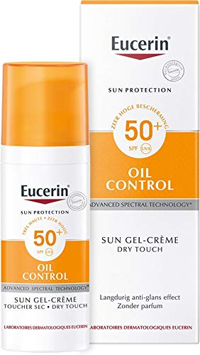 (EUCERIN Sun Dry Touch Oil Control Face SPF50+ 50ml!NEW!)
