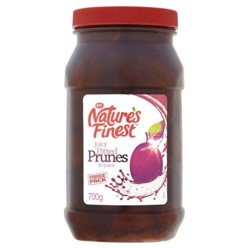 Nature's Finest Prunes in Juice 700g - Pack of 6 by Nature's Finest