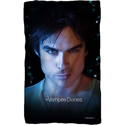 Vampire Diaries - Damon Eyes Fleece Blanket 35 x 57in