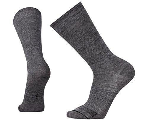 Smartwool Men's Anchor Line Socks (Medium Gray/Black) Large