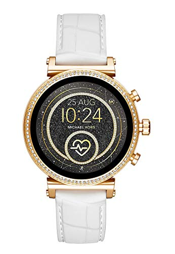 Michael Kors Womens Digital Connected Wrist Watch with Silicone Strap MKT5067