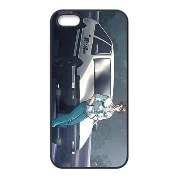ad098aa862e Initial D 01 para el mejor funda iPhone 5 5s funda teléfono celular de cubierta  negro: Amazon.es: Electrónica