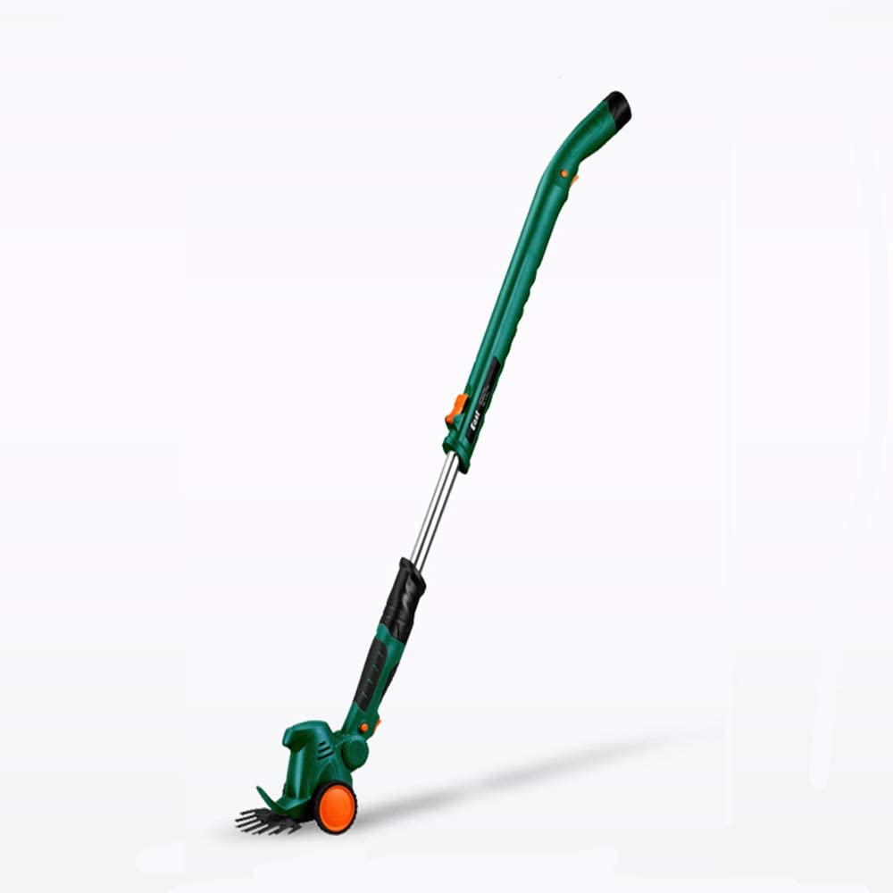 Hedge Trimmer,Trimming Cordless Shears Lightweight Handheld,2 Interchangeable Blades, Battery Powered Lightweight Electric Trimmer,(Trimming Shears with Extension Handle)