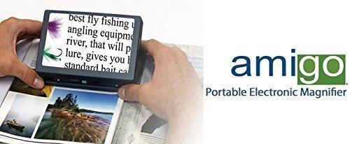 Amigo - Full Featured Portable Electronic Magnifier
