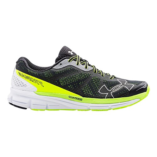 Chaussures Under Armour Charged Bandit Gris-Jaune 2016