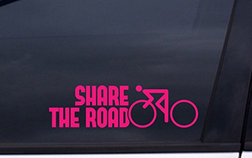 (SHARE THE ROAD VINYL Decal 2.5