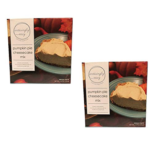 (Enticingly Easy Pumpkin Pie Cheesecake Mix, Pack of 2)