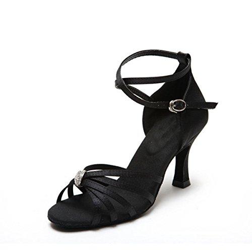 bal Heel 5cm de Miyoopark 7 Salle femme Black Yxf86qE0w