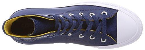 Converse Unisex-Erwachsene CTAS Hi Hohe Sneaker Blau (Navy/mineral yellow/White)