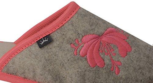 Fieltro Calientes Opcional Mujer para Transpirables Regalo 913 en De Acogedoras De Caja Casa de Lana De Zapatillas xqznFXw