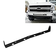 TURBO SII 20inch Single Row Front LED Light Bar Hidden Bumper Mount Mounting Brackets For GMC Chevrolet: 07-13 Silverado 1500 4WD/2WD, 07-10 Silverado 2500 HD 4WD/2WD, 07-10 Silverado 3500 HD 4WD/2WD