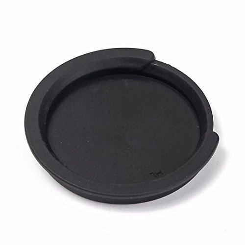 Screeching Halt Soundhole - Nacome Guitar Acoustic Sound Hole Cover Halt Feedback Buster Prevention Rubber (Black)