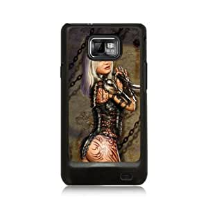 B 0029-0023-0001 guerrera Diabloskinz Skin para HTC HD2