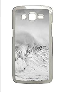 Samsung Galaxy Grand 2 7106 Cases & Covers - Waves PC Custom Soft Case Cover Protector for Samsung Galaxy Grand 2 7106 - Transparent