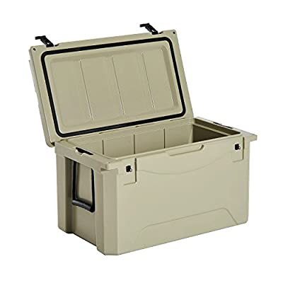 Outsunny Heavy Duty Roto-Molded Camping Cooler and Ice Box