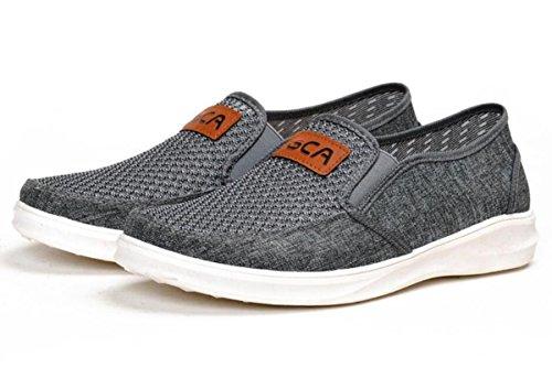 cómodos ligeros nuevos 2 respirables de ligeros ocasionales zapatos Mocasines de los conducción y hombres zAPfxnqw