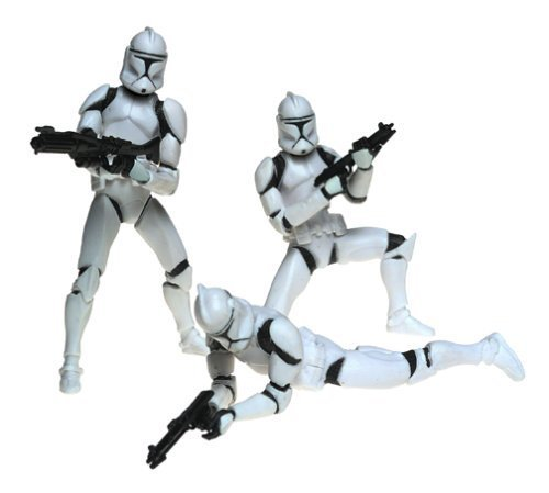 Star Wars- Army of the Republic Clone Trooper Army - Variant May Vary by Hasbro