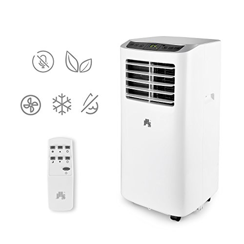 JHS A019-8KR/A 8000 BTU Portable Air Conditioner With Remote Control, White
