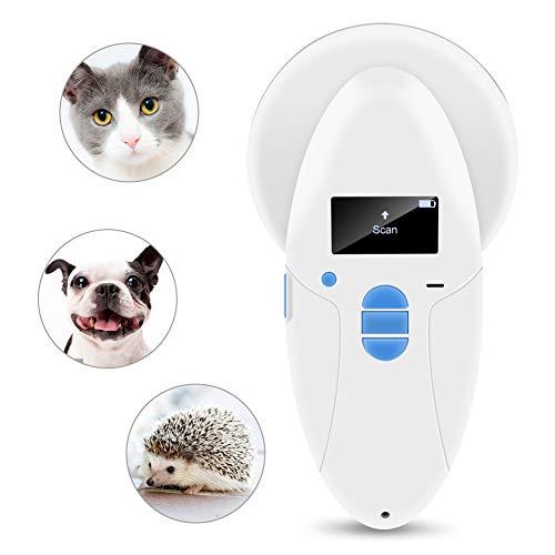 RFID Chip Reader Scanner 134.2Khz Animal Pet Microchip Recognition Reader for Pet Animal Cat Dog Microchips Transponders in Cushioned Case