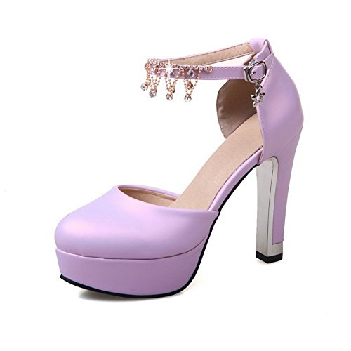 Sandali con Zeppa Aimint Purple 35 Donna Viola EU EYR00064 CBqU5