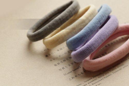 Dentelle Kenzola 5pc glaces Couleur Elastiques élastique Hairties Fournitures Accessoires pour Femmes Filles
