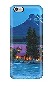 Pink Mountain House Case Compatible With iphone 6 (4.7) / Hot Protection Case