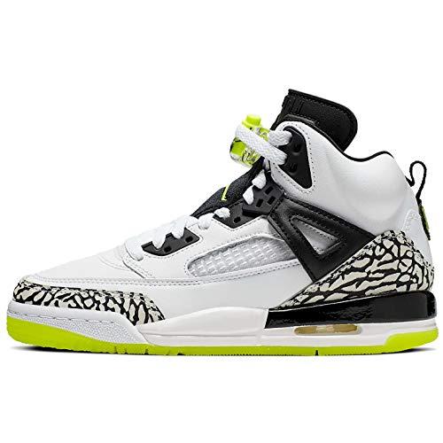Nike Boys Jordan Spizike (gs) Shoe Kids Big Kids 317321-170 Size 4.5 White/Volt-Black (Air Jordan Spizike Gs)