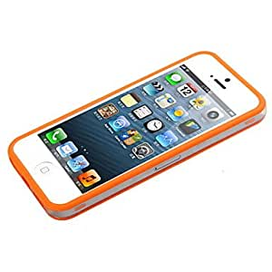 SUMCOM The Frame TPU Plastic Soft Case for iPhone 5/5S (Assorted Colors) , Blue