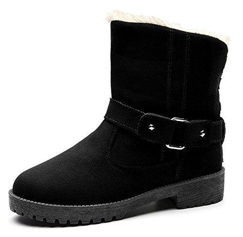 Fourr Aisun Femme Boots Low Chaud YSZTqWY