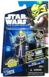 Star Wars 2011 Clone Wars Animated Action Figure CW No. 60 Kit Fisto Cold Weather Gear (Star Kit Wars Clone Fisto Wars)