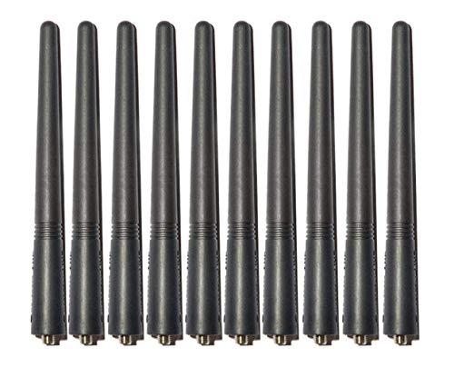 bestkong 10 X VHF Antenna for Motorola HT750 HT1250 HT1550 GP340 GP380 GP360 CP150 CT250 CT450 EP450 GP320 CP200 Two Way Radio ()