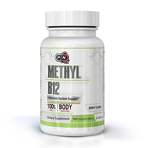 Methyl B12 2000mcg 100% Pure Body Ready Form Nervous Syst...